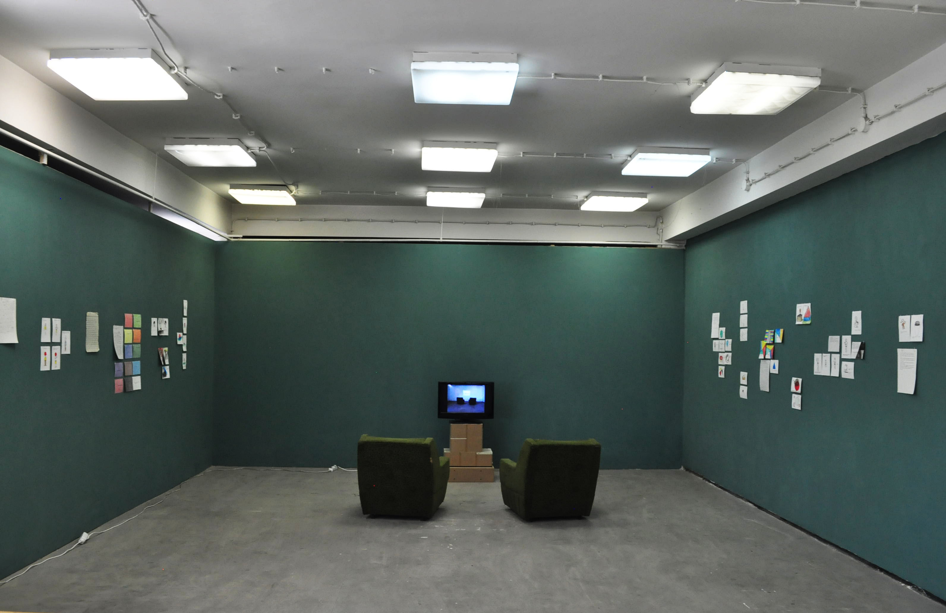 Andrea Coyotzi Borja (exhibition view, 2013)