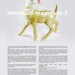 3rd International Exhibition of miniatures: Minimum Maximum 2011