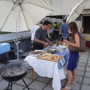 BBQ on the Roof