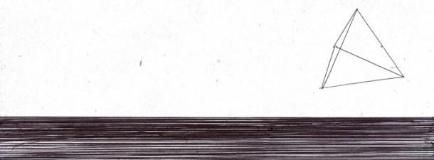 """Mark Fridvalszki, flyer for """"Inner horizons"""""""