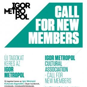 Új tagokat keres az IGOR METROPOL